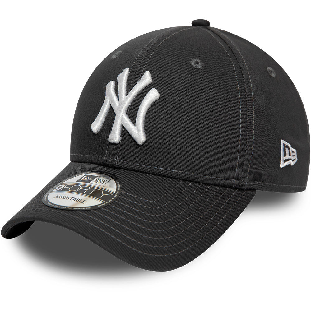 NY Yankees Kids New Era 940 Graphite Baseball Cap (Ages 2 - 10 years) - pumpheadgear, baseball caps