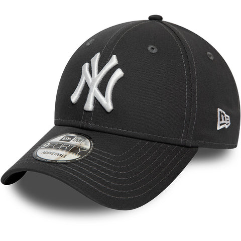 NY Yankees Kids New Era 940 Graphite Baseball Cap (Ages 2 - 10 years)