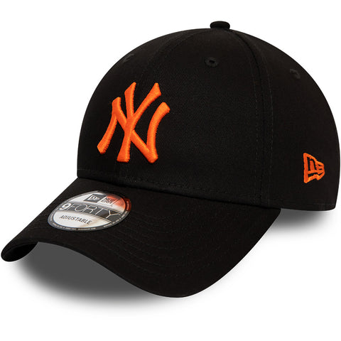 NY Yankees Kids New Era 940 Black Baseball Cap (Ages 2 - 10 years)