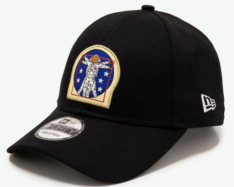 New Era 940 ISA X Astronaut Black Baseball Cap