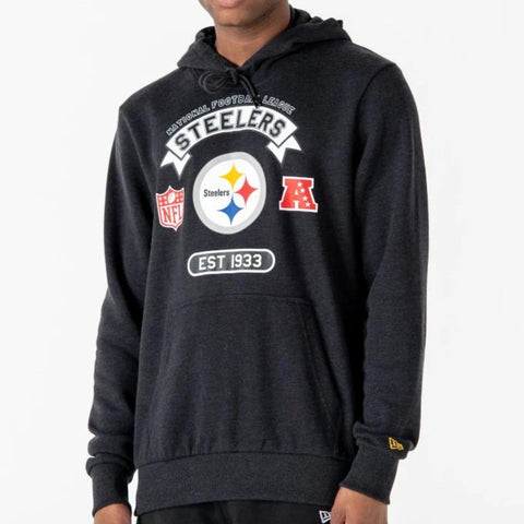 Pittsburgh Steelers New Era NFL Graphic PO Hoody - pumpheadgear, baseball caps