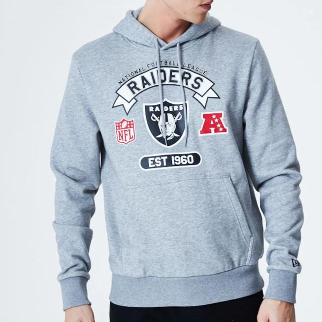 Las Vegas Raiders New Era NFL Graphic PO Hoody - pumpheadgear, baseball caps