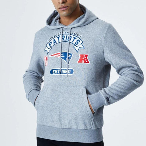 New England Patriots New Era NFL Graphic PO Hoody - lovemycap