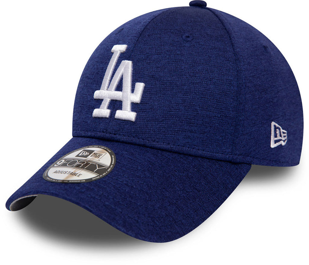 LA Dodgers New Era 940Shadow Tech Blue Baseball Cap - pumpheadgear, baseball caps
