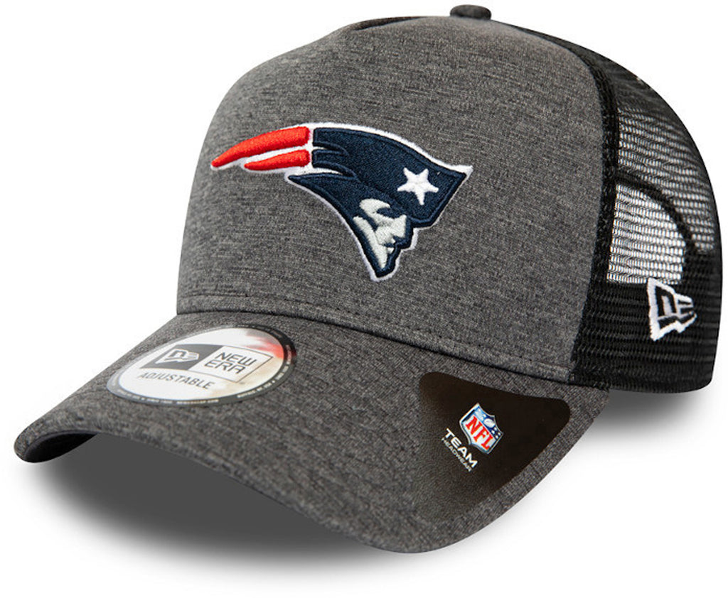 New England Patriots New Era Shadow Tech A-Frame Trucker Cap - lovemycap