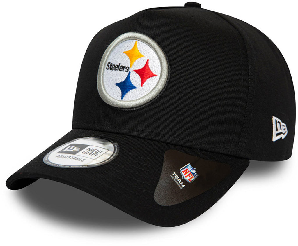 Pittsburgh Steelers New Era NFL A-Frame Closed Back Cap - pumpheadgear, baseball caps
