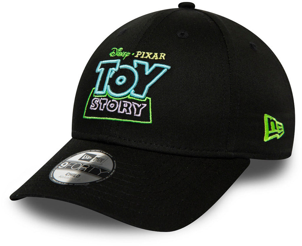 Toy Story Kids New Era 940 Black Cap (Ages 2 - 10 years) - pumpheadgear, baseball caps