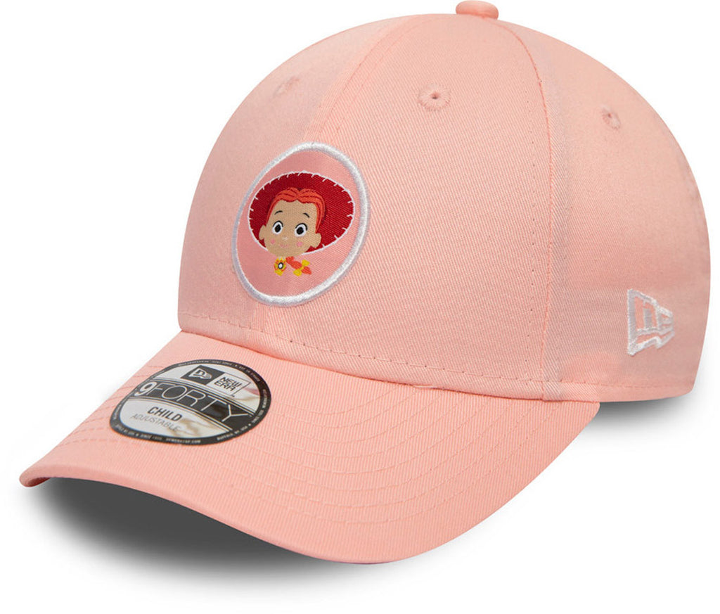 Toy Story Kids New Era 940 Jessie Pink Cap (Ages 2 - 10 years) - pumpheadgear, baseball caps