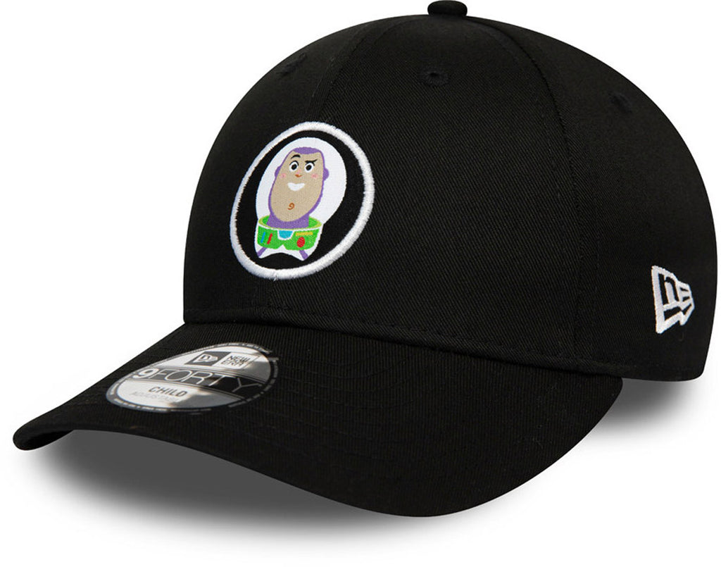 Toy Story Kids New Era 940 Buzz Lightyear Black Cap (Ages 2 - 10 years) - pumpheadgear, baseball caps