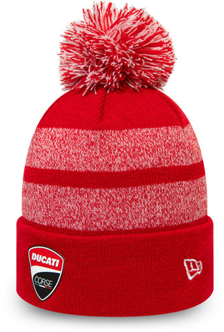 Ducati SP20 Corse Stripe New Era Bobble Hat - pumpheadgear, baseball caps