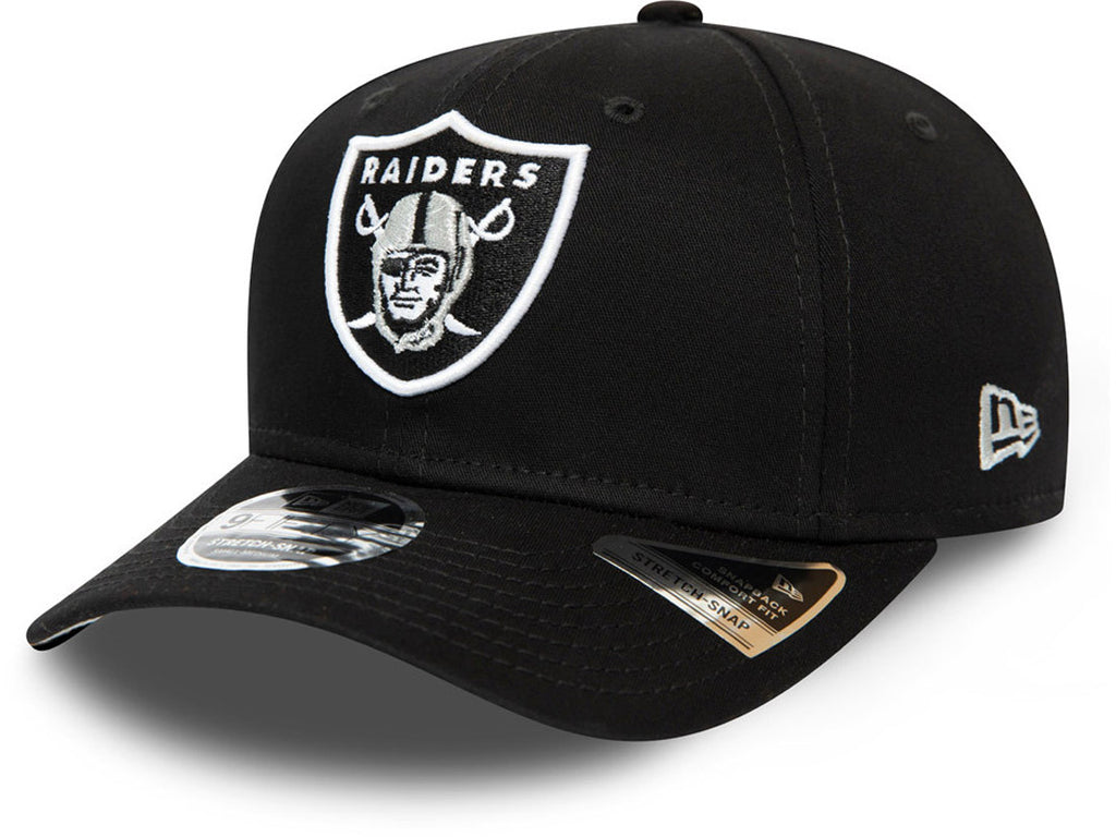 Las Vegas Raiders Kids New Era 950 Team Stretch Snapback Cap (Ages 5 - 10 years) - lovemycap