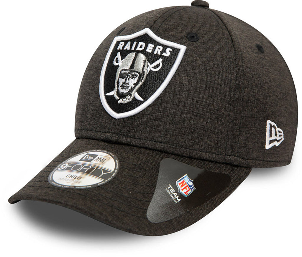 Las Vegas Raiders Kids New Era 940 Shadow Tech Cap (Ages 4 - 10 years) - pumpheadgear, baseball caps