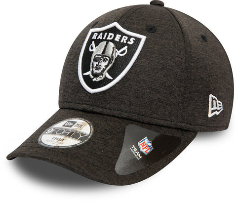 Las Vegas Raiders Kids New Era 940 Shadow Tech Cap (Ages 4 - 10 years) - lovemycap