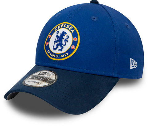 Chelsea FC New Era 940 Suede Visor Team Cap - pumpheadgear, baseball caps