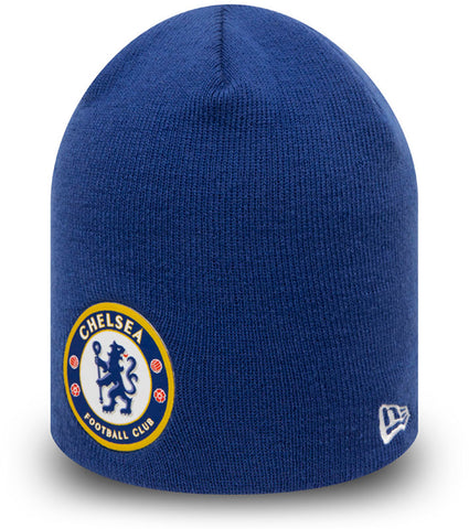 Chelsea FC New Era Blue Skull Knit Beanie - pumpheadgear, baseball caps