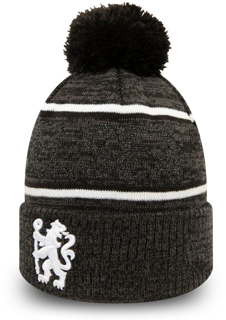 Chelsea FC New Era Reflective Knit Bobble Hat - pumpheadgear, baseball caps