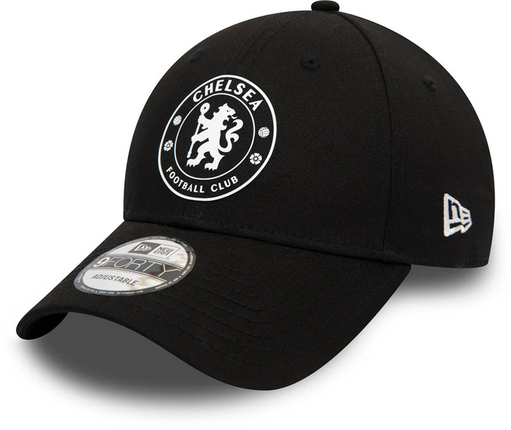 Chelsea FC New Era 940 Black Team Cap