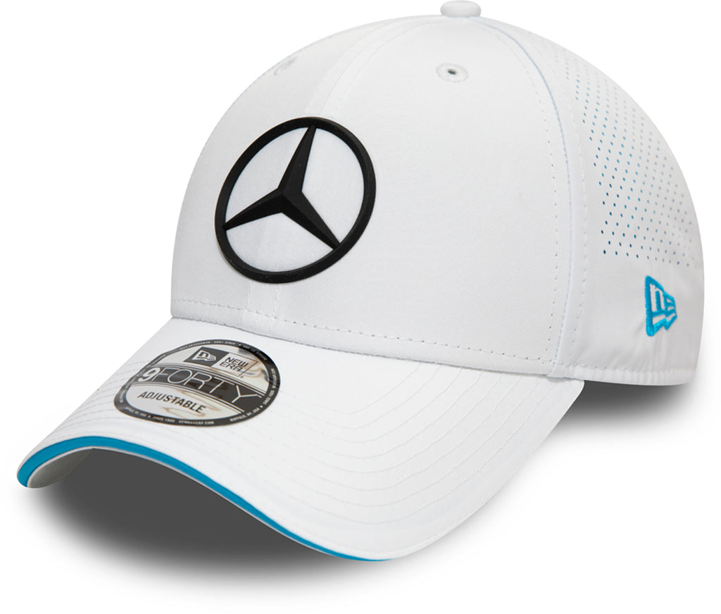 Mercedes AMG Petronas New Era 940 White Perf Cap - pumpheadgear, baseball caps