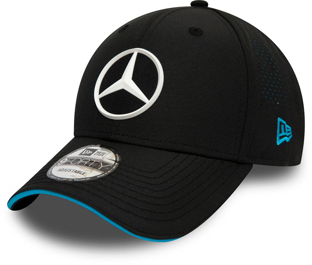 Mercedes AMG Petronas New Era 940 Black Perf Cap - pumpheadgear, baseball caps