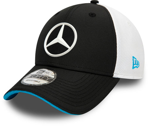 Mercedes AMG Petronas New Era 940 Team Launch Black Cap - pumpheadgear, baseball caps