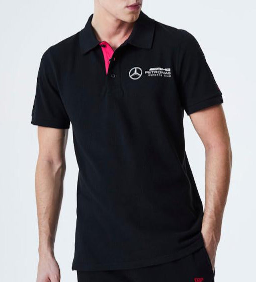 Mercedes AMG Petronas E-Sports New Era Polo Top - pumpheadgear, baseball caps