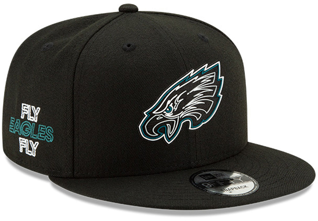 Philadelphia Eagles New Era 950 Kids NFL 2020 Draft Snapback Cap (Ages 5 - 10) - lovemycap