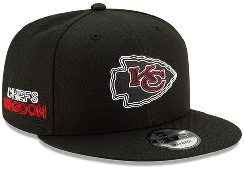 Kansas City Chiefs New Era 950 Kids NFL 2020 Draft Snapback Cap (Ages 5 - 10) - pumpheadgear, baseball caps