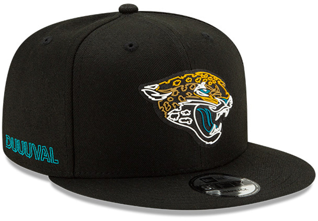 Jacksonville Jaguars New Era 950 Kids NFL 2020 Draft Snapback Cap (Ages 5 - 10) - pumpheadgear, baseball caps