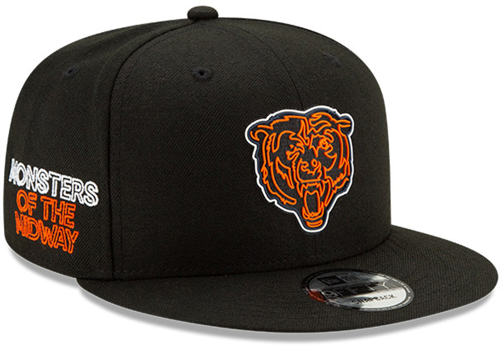 Chicago Bears New Era 950 Kids NFL 2020 Draft Snapback Cap (Ages 5 - 10) - pumpheadgear, baseball caps