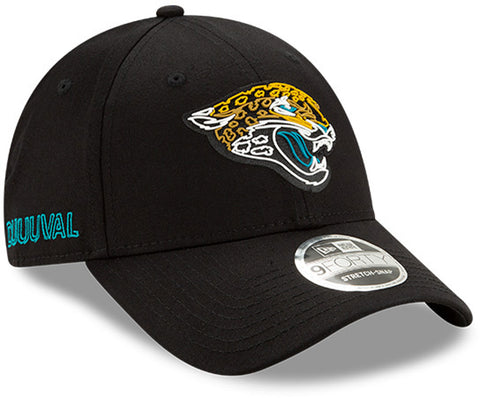 Jacksonville Jaguars New Era 940 NFL 2020 Draft Stretch Snap Cap - pumpheadgear, baseball caps