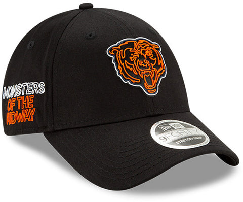 Chicago Bears New Era 940 NFL 2020 Draft Stretch Snap Cap - pumpheadgear, baseball caps