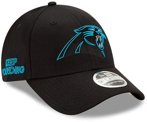 Carolina Panthers New Era 940 Kids NFL 2020 Draft Stretch Snap Cap (Ages 5 -10) - pumpheadgear, baseball caps