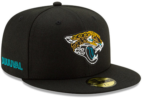 Jacksonville Jaguars New Era 5950 NFL 2020 Draft Fitted Cap - lovemycap