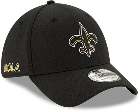 New Orleans Saints New Era 3930 NFL 2020 Draft Stretch Fit Cap