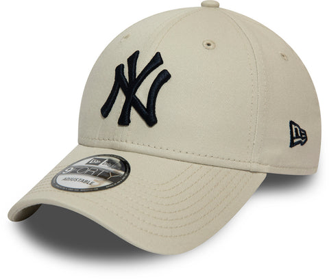 NY Yankees New Era 940 League Essential Stone Baseball Cap - pumpheadgear, baseball caps