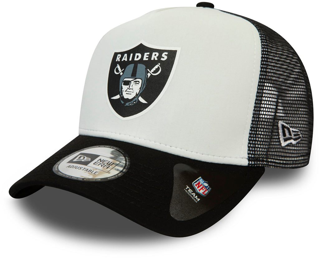 Las Vegas Raiders New Era NFL Team Colour Block Trucker Cap - pumpheadgear, baseball caps