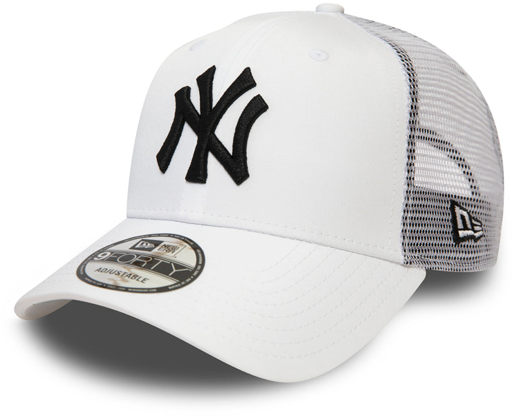 NY Yankees New Era 940 Summer League White Baseball Cap - pumpheadgear, baseball caps