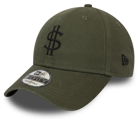 New Era 940 Dollar Pack Olive Baseball Cap