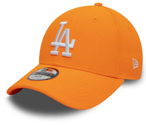 LA Kids New Era 940 League Essential Neon Orange Baseball Cap (Ages 2 - 10 years) - pumpheadgear, baseball caps