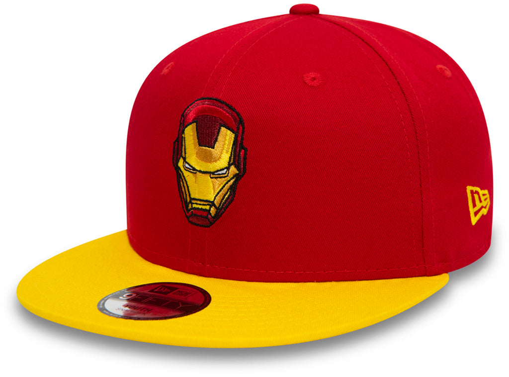 Iron Man New Era 950 Kids Character Snapback Cap (Age 4 - 10 years) - pumpheadgear, baseball caps