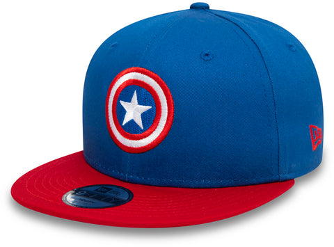Captain America New Era 950 Kids Character Snapback Cap (Age 4 - 10 years) - pumpheadgear, baseball caps