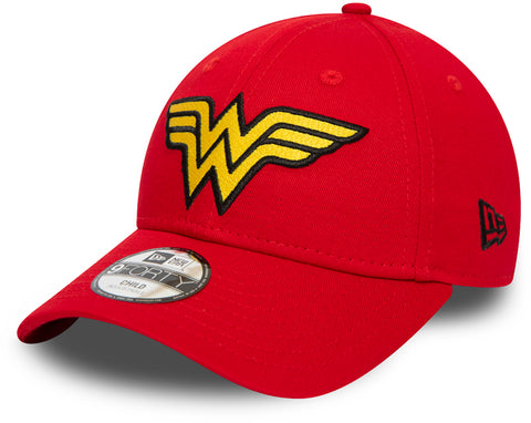 Wonder Woman Kids New Era 940 Character Cap (Ages 2 - 10 years) - pumpheadgear, baseball caps
