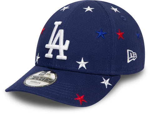 LA Dodgers Kids New Era 940 Blue Stars Baseball Cap (Ages 2 - 10 years) - pumpheadgear, baseball caps