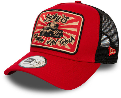 New Era Lucky's Custom Hot Rods Trucker Cap