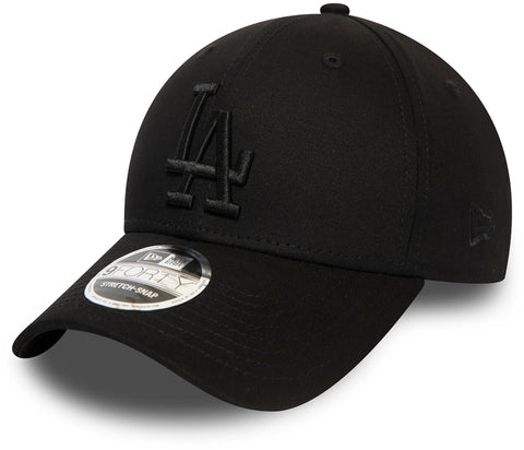 LA Dodgers New Era 940 Black Stretch Snap Baseball Cap Cap - pumpheadgear, baseball caps