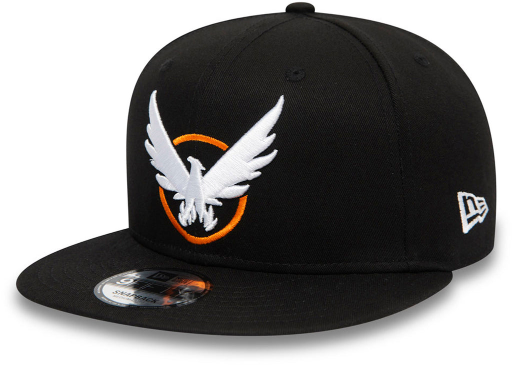 The Division 2 New Era 950 Black Snapback Cap