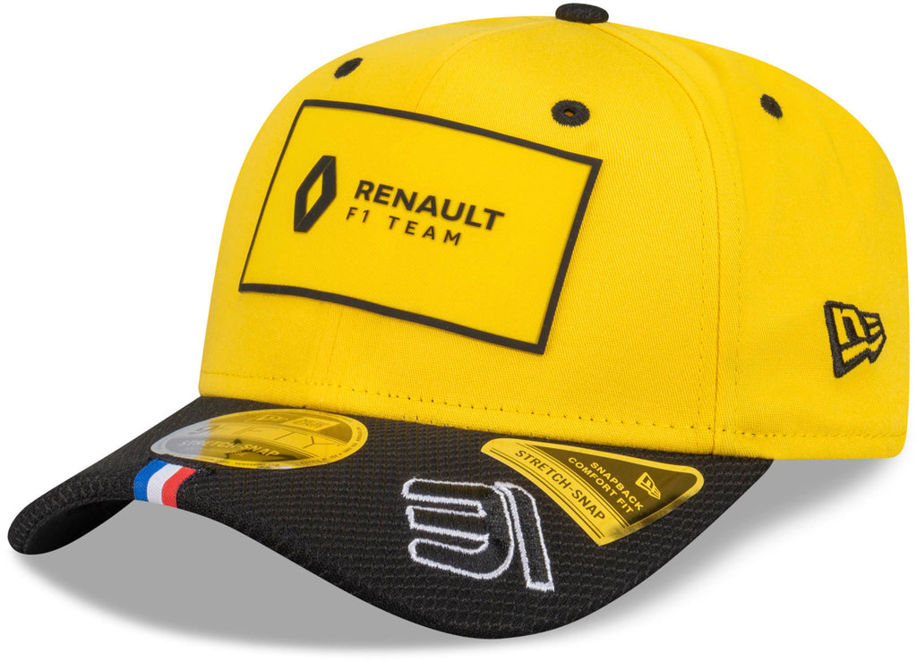 Renault F1 New Era 950 Team Driver Esteban Ocon Yellow Snapback Cap