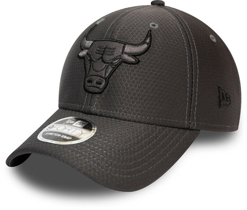 Chicago Bulls New Era 940 Tonal Graphite Snapback Cap