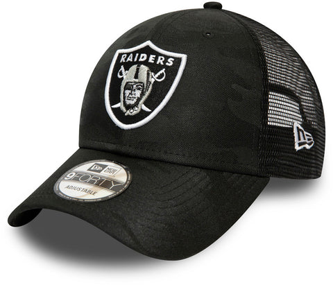 Las Vegas Raiders New Era 940 Seasonal League Black Cap