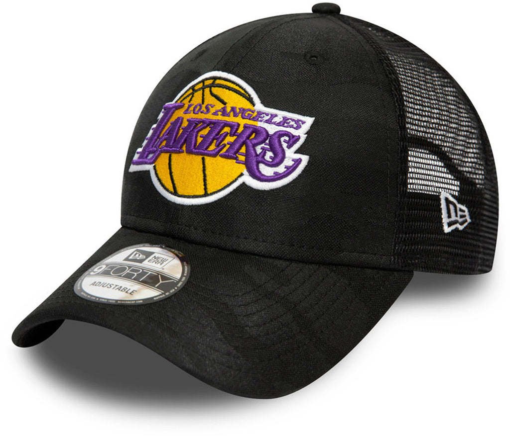 LA Lakers New Era 940 Seasonal League Black Cap